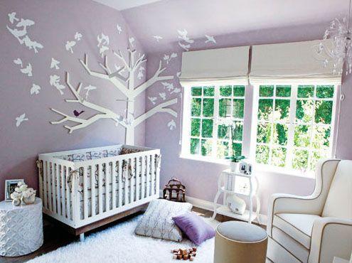 baby's nursery (Tiffany Amber Thiessen) Mädchenzimmer