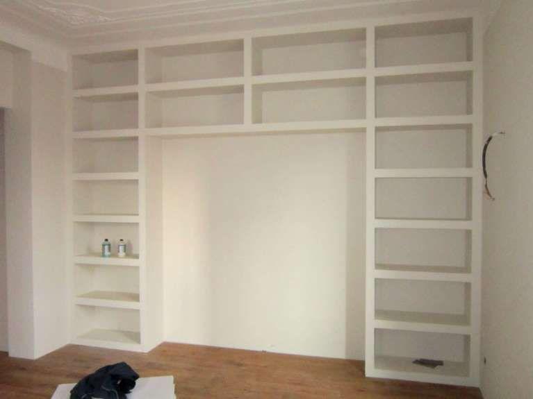 Librerie in cartongesso nel arredamento d interni
