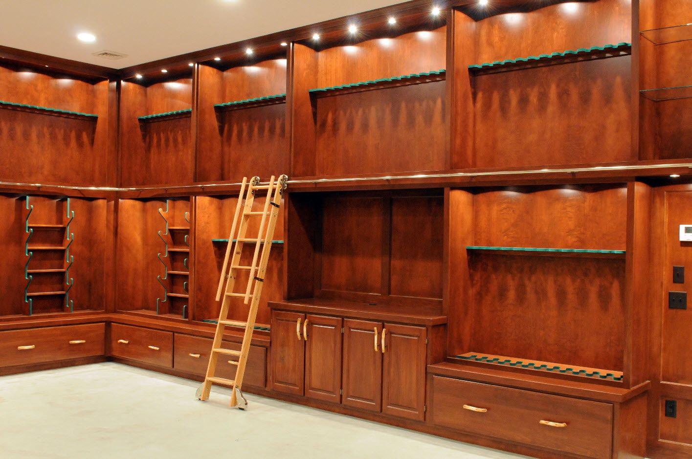 Custom gun room gallery the armory pinterest custom for Custom safe rooms