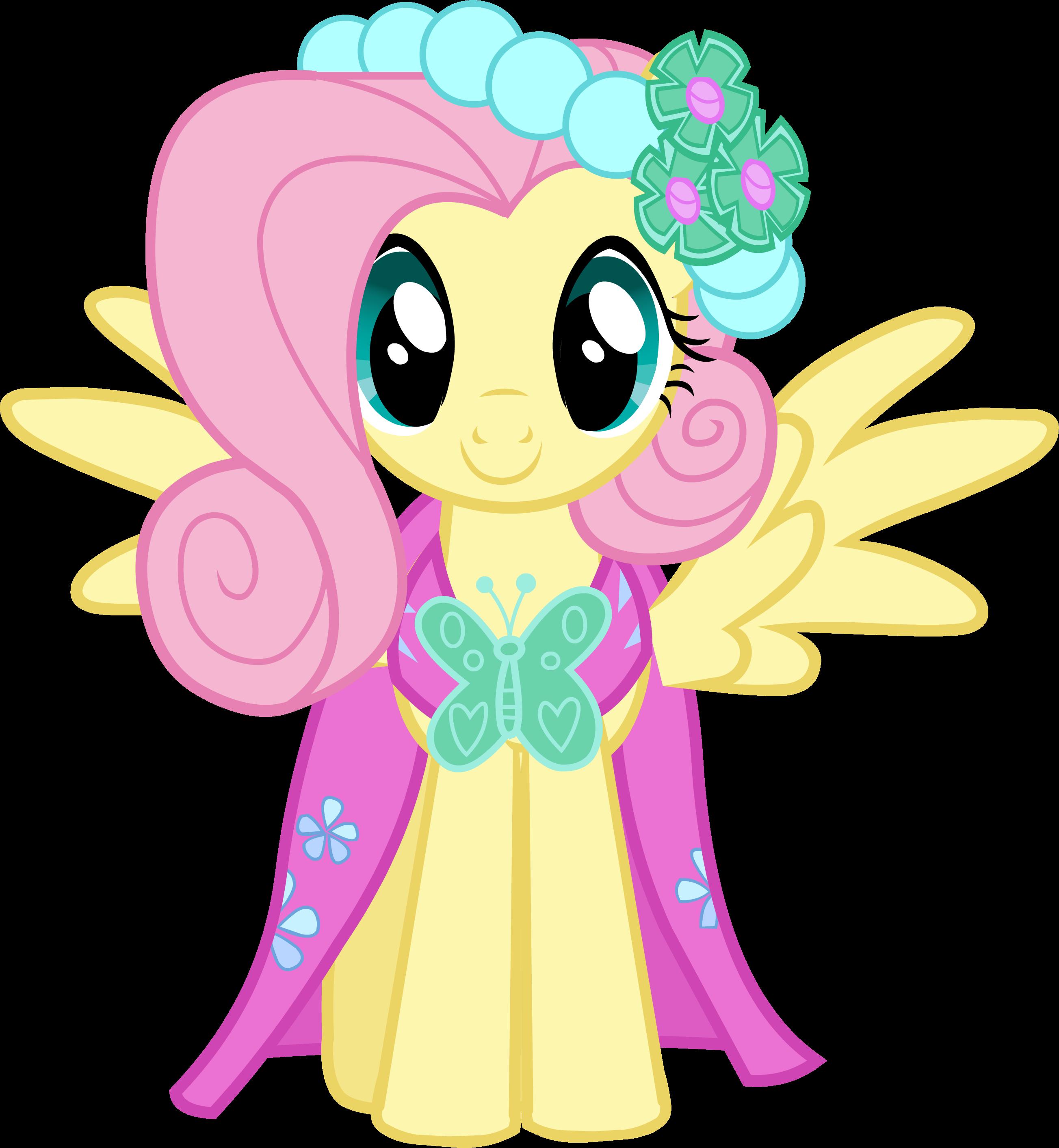 My Little Pony Wedding: Fluttershy At Princess Cadence & Shining Armor's Wedding