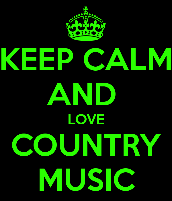 I Love Country Music Wallpaper
