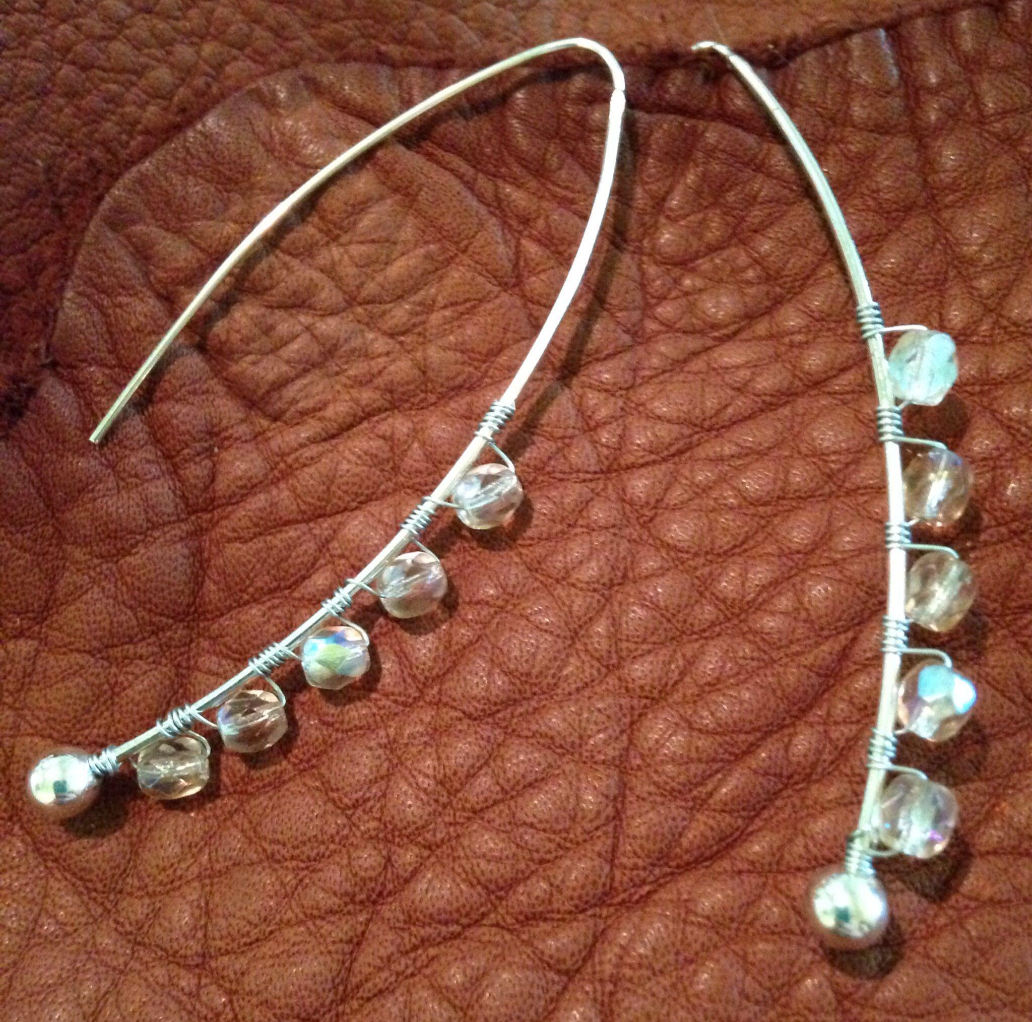 Czech Glass Beaded Earrings