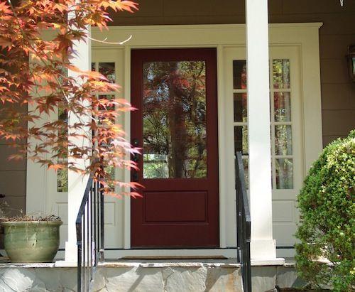 4 autumn inspired front door color ideas | front doors and doors