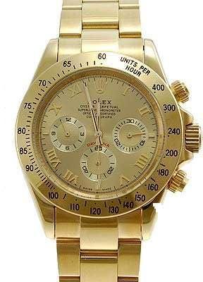 18K Gold Rolex Watch