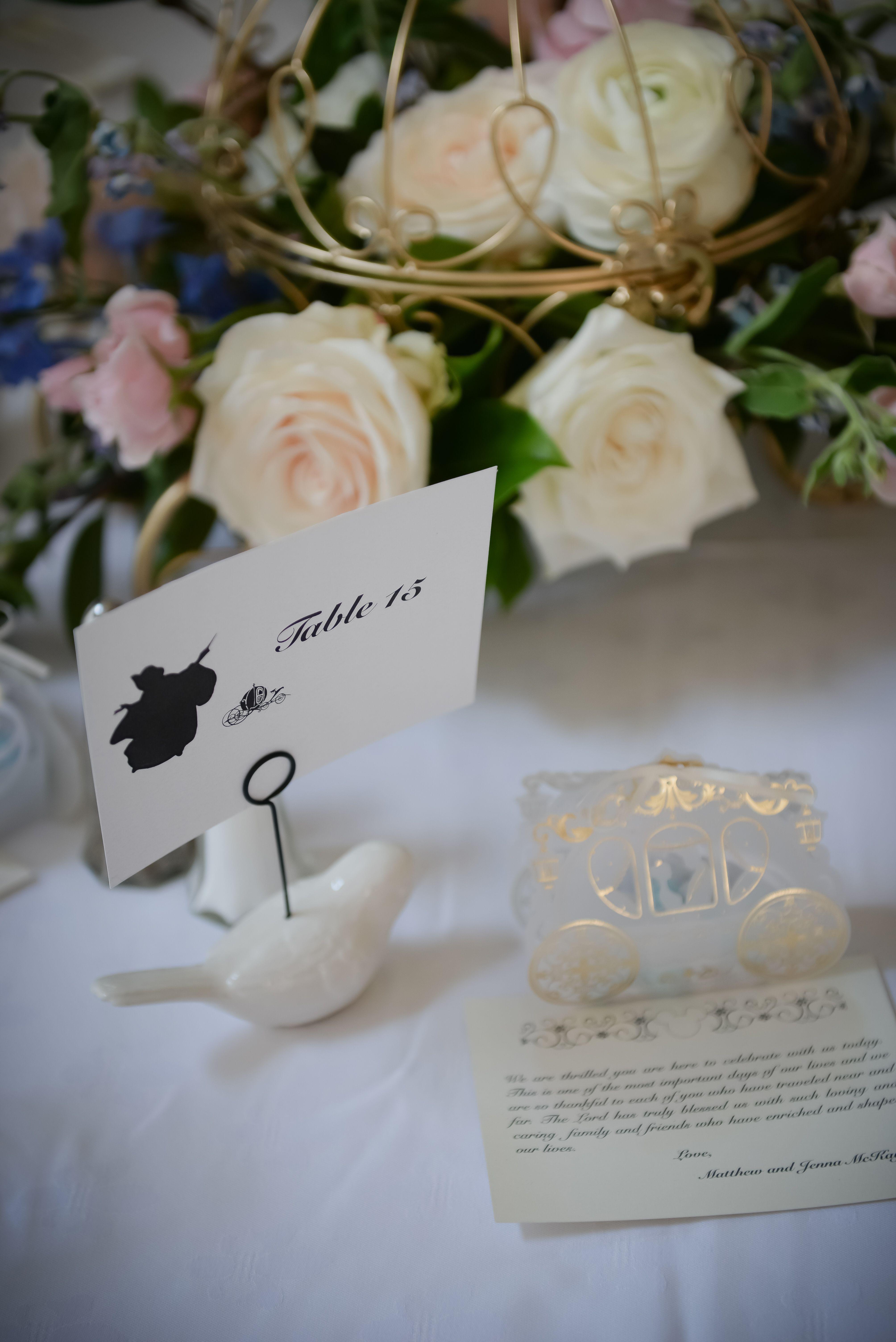Fairy Godmother Table Disney Wedding Theme Cinderella Wedding Theme Elegant Disney Wedding