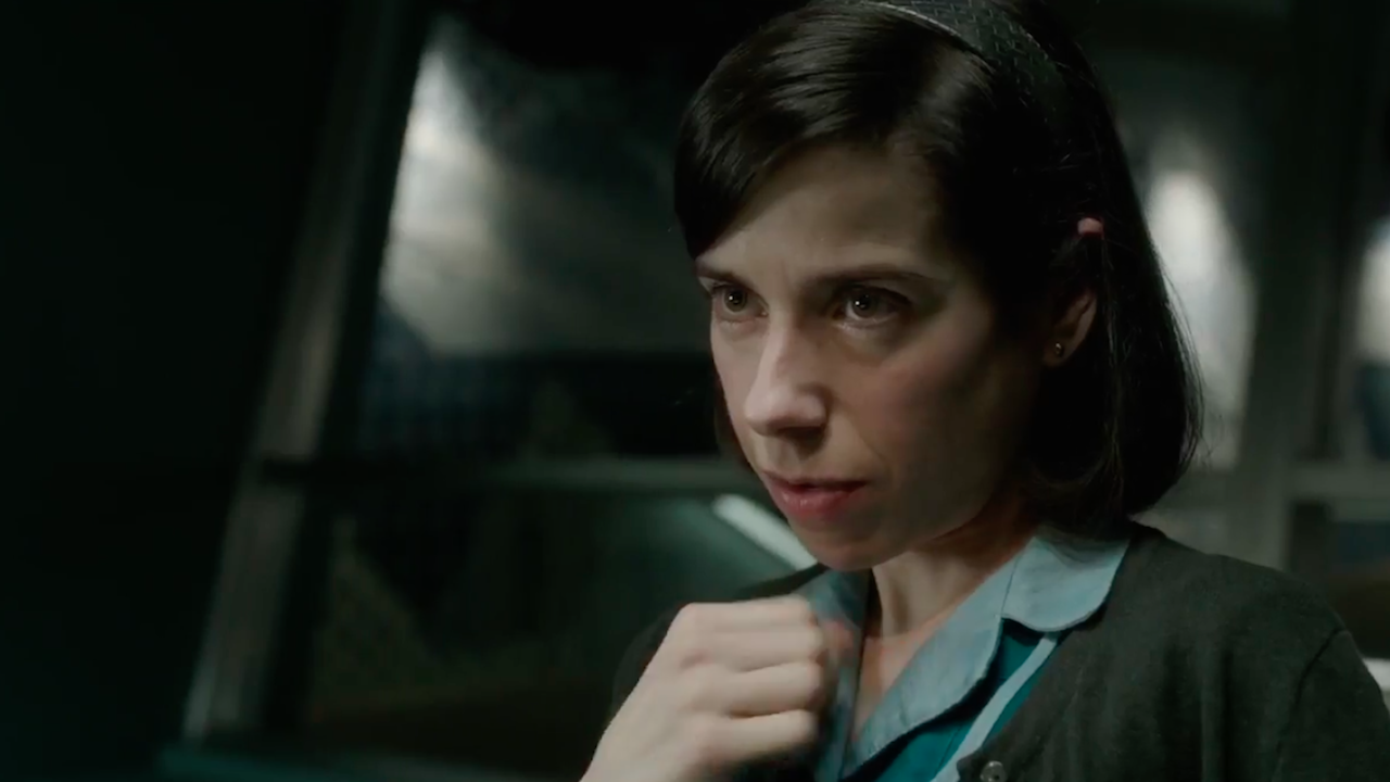 The Shape of Water - Awash with constantly surprising pleasures.  Sally Hawkins stars as a mute cleaner at a U.S. government aerospace facility who bonds with an amphibious creature in Guillermo del Toro's Cold War romantic fairy tale.  Stepping away from his big-budget studio work on Pacific Rim and Crimson Peak to return closer to the more artisanal territory of his memorable early Spanish-language films The Devil's Backbone and Pan's Labyrinth, Guillermo del Toro delivers pure enchantment