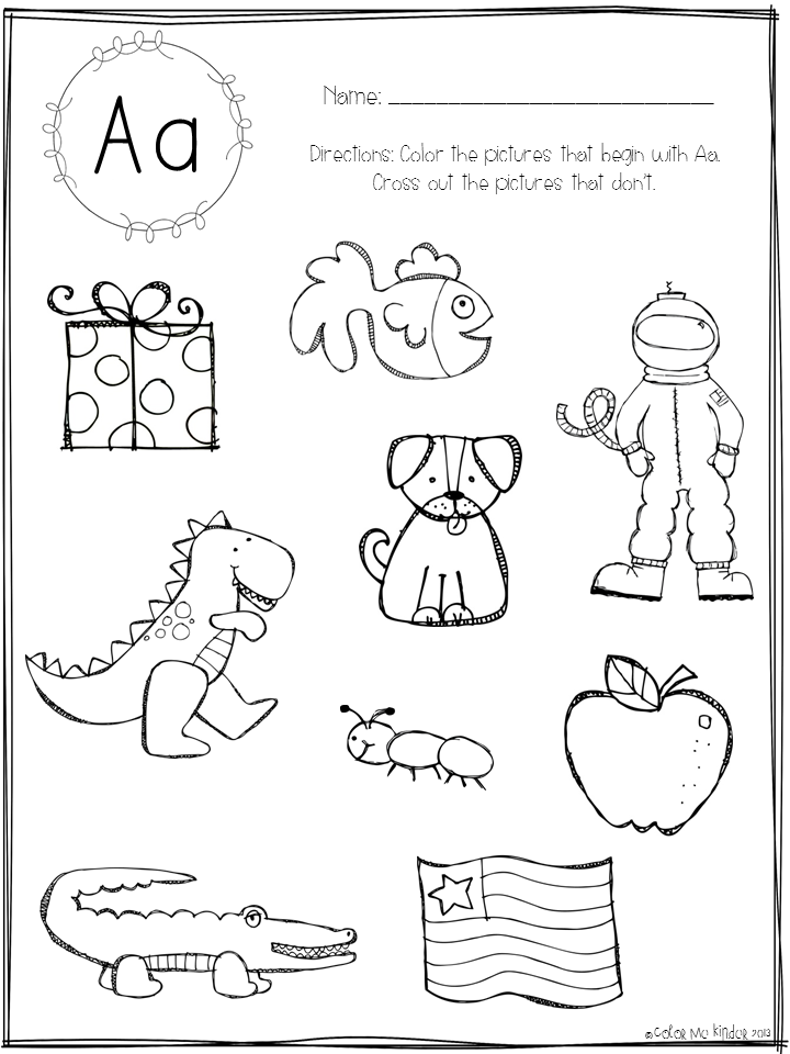 Free Letter Tracing Worksheets For Kindergarten #1 | new stuff May ...