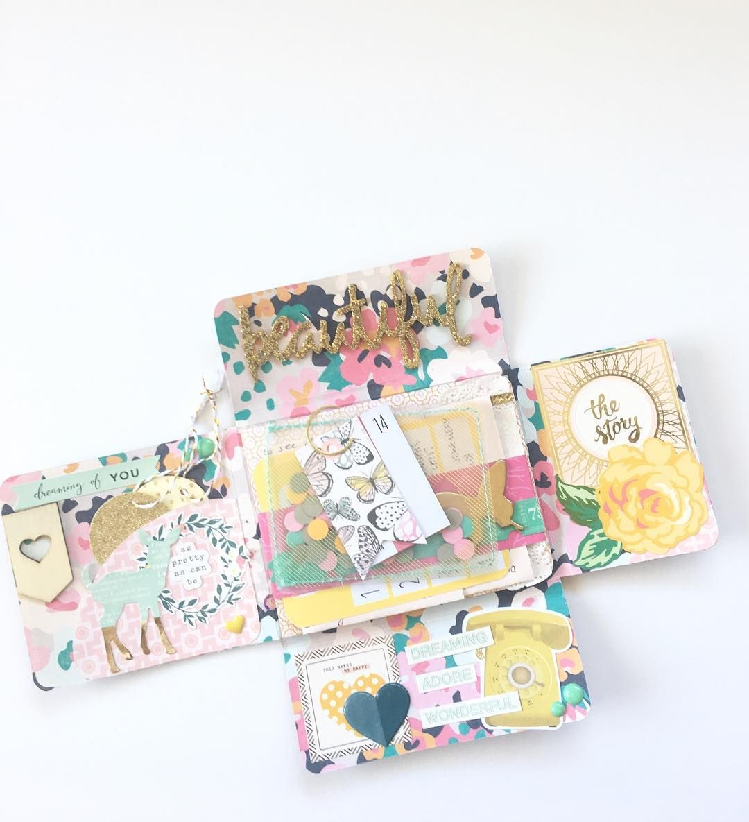 Scrapbooking Stationery Pen Pals Greetings Cards Journal Inserts 5 Shaped Kawaii Fashionable People Postcards for Snail Mail