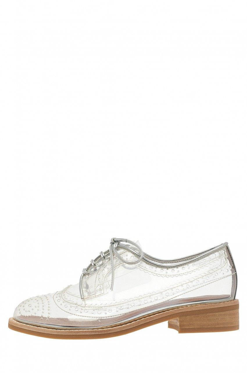 Jeffrey Campbell Townsend in Clear Vinyl