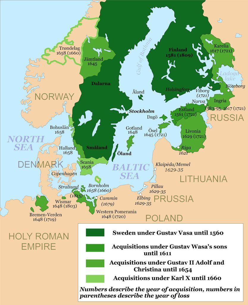 Gustav Vasa Gustavus Adolphus Charles X Turned The Baltic Into