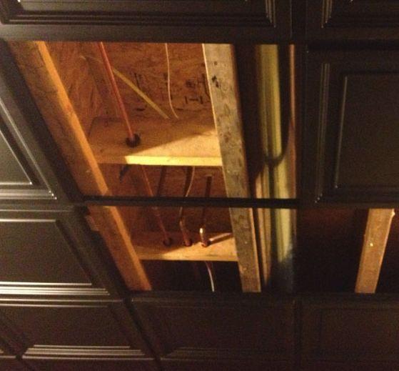 Direct Mount Ceiling Tiles: Solution For Basement Ceilings