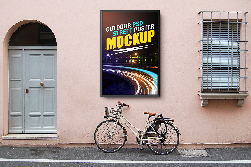 Download Outdoor Street Poster Mockup Free Mockup Poster Mockup Poster Mockup Free Poster On