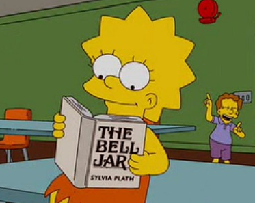 Image result for lisa simpson reading