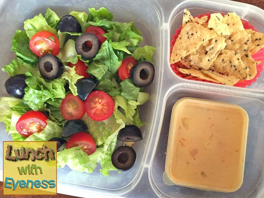Yummy salad idea! Packed for lunch with #EasyLunchboxes via Lunch With Eyeness