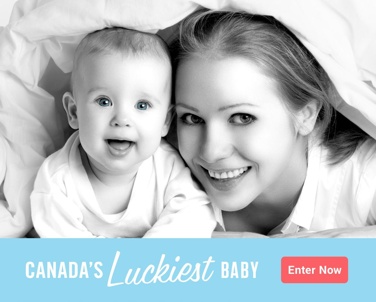 Do you have Canada's Luckiest Baby? Find out how your baby