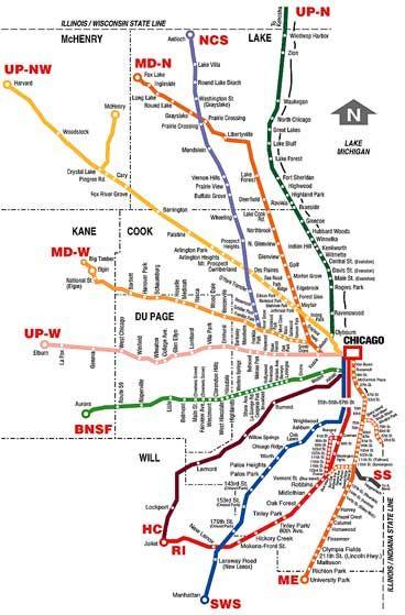 Metra Train Map--Pin Art   Gifts   Pinterest   Train map and Travel ...