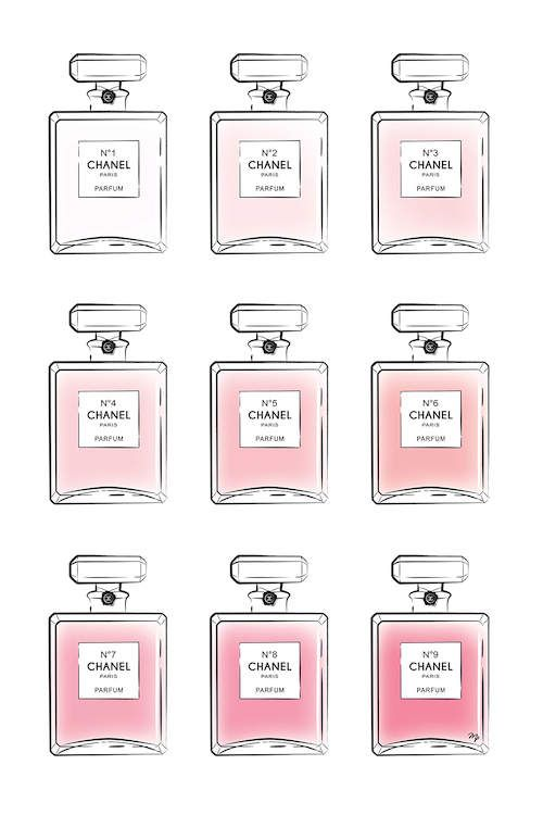 Pink Perfumes Canvas Wall Art by Martina Pavlova | iCanvas