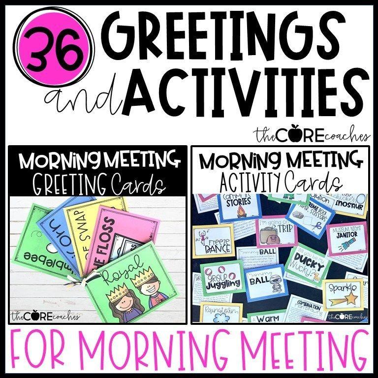 Park Art My WordPress Blog_Morning Meeting Games 3rd Grade