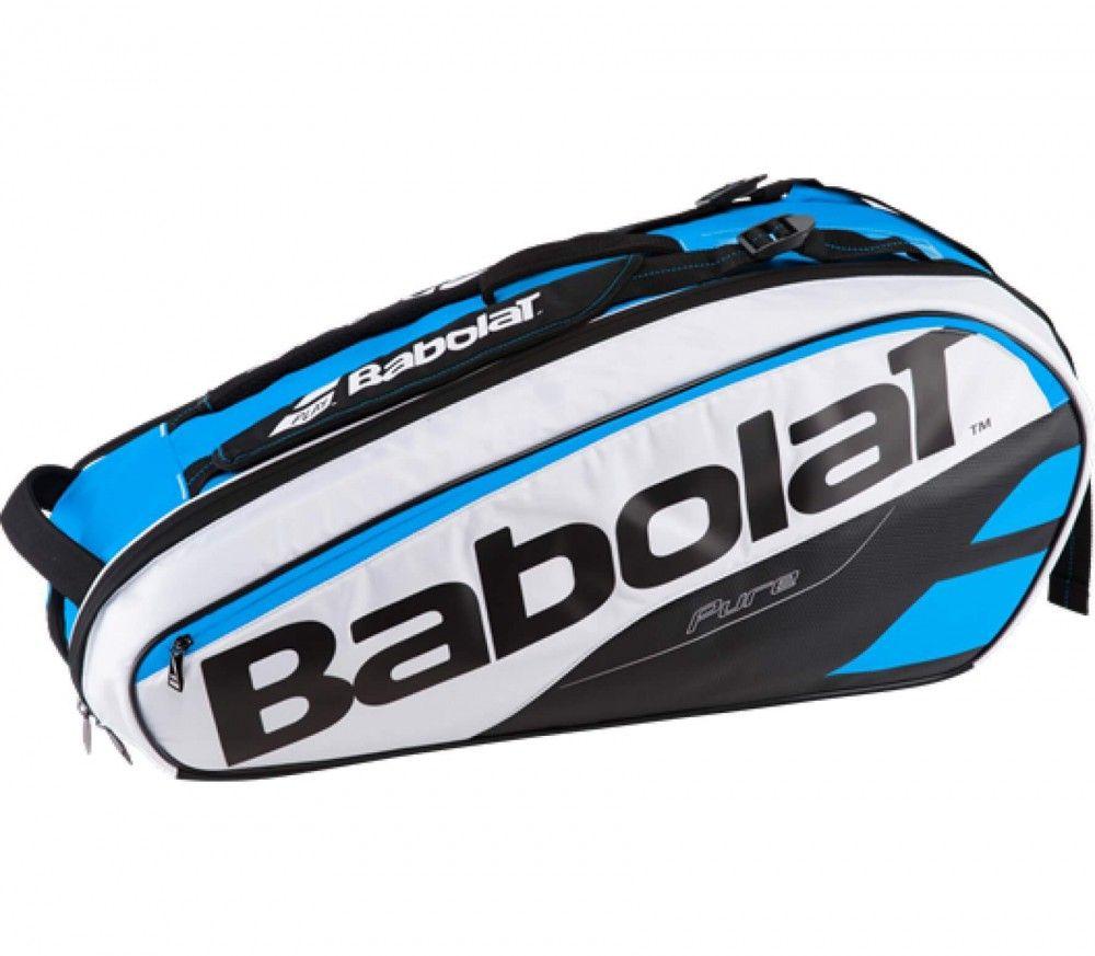 Babolat - Pure Racket Holder X6 tennis väska (blå vit)  5a6f364707f85