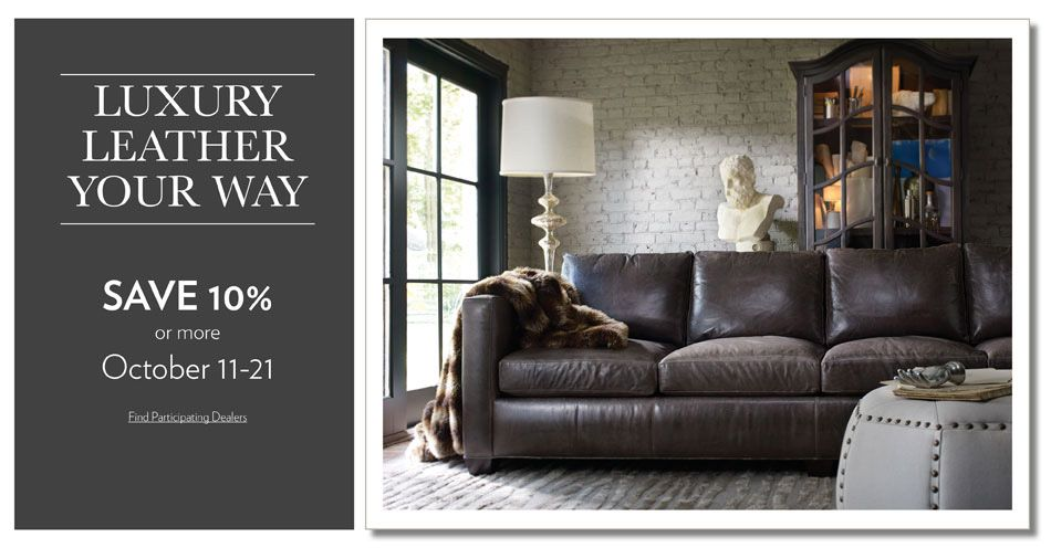 Luxury Leather Event Going On Now At Moore S Furniture In
