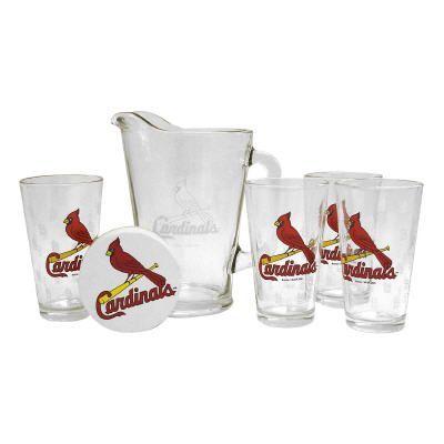MLB Pitcher and Pint Glasses Set