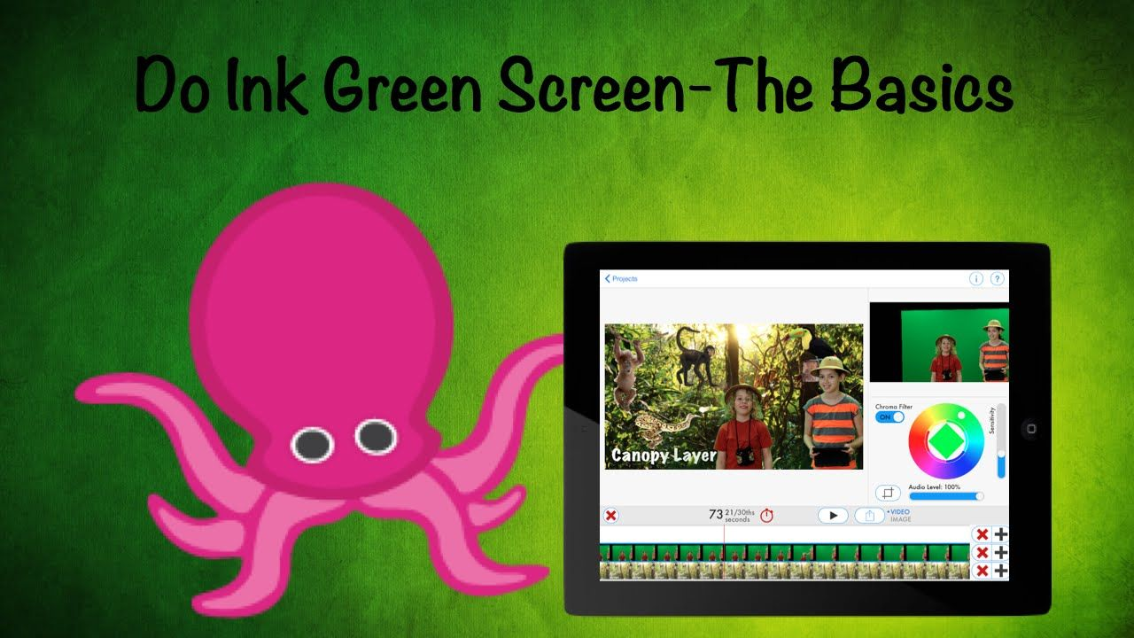 This Basic Video Tells You How to Use Green Screen App by