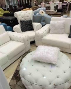 كنب جلد ابيض للبيع Furniture Love Seat Home Decor