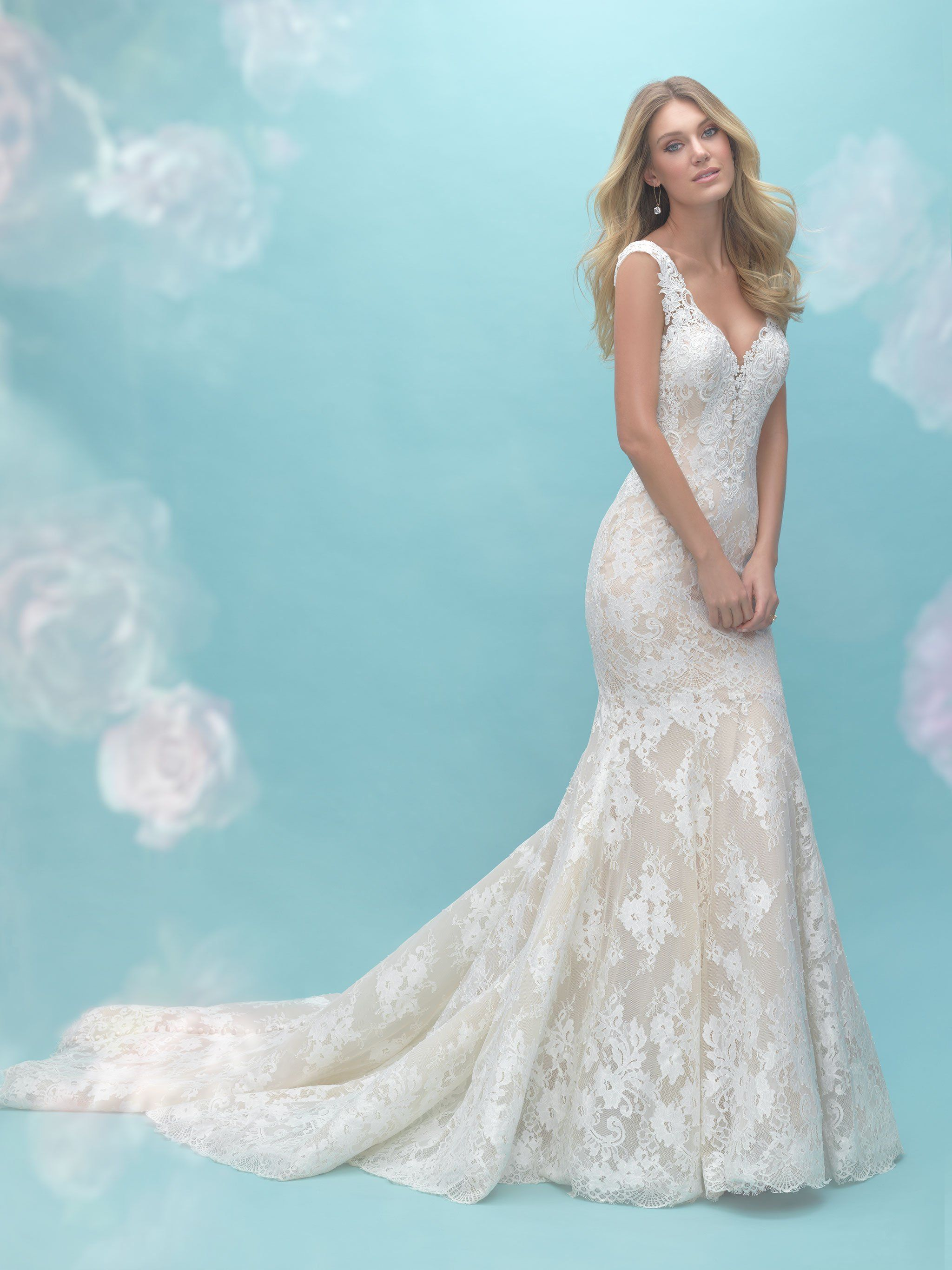 Allure 9464 | Illusions, Gowns and Wedding dress