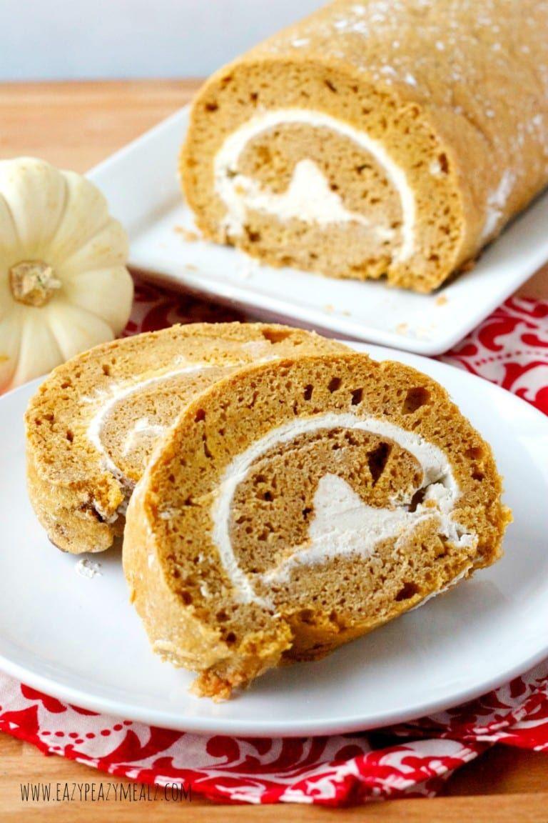 Gluten free pumpkin cake roll recipe pumpkin roll cake