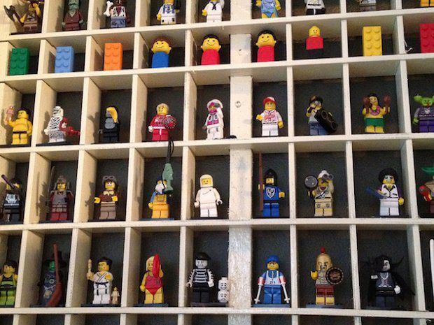 Flashback: LEGO Display Case | Lego display case, Lego display and ...