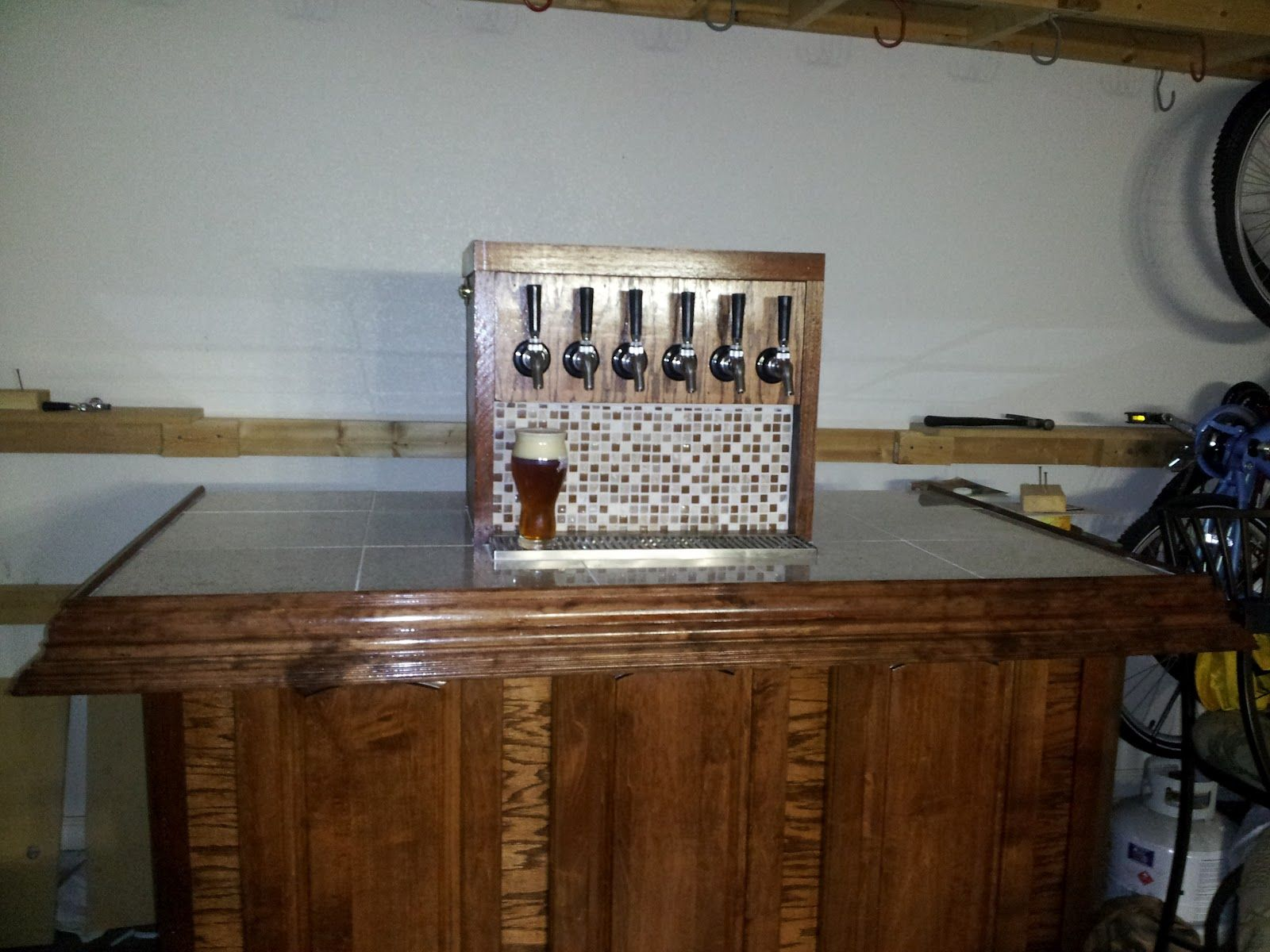 Torrence Brewing New Kegerator Build