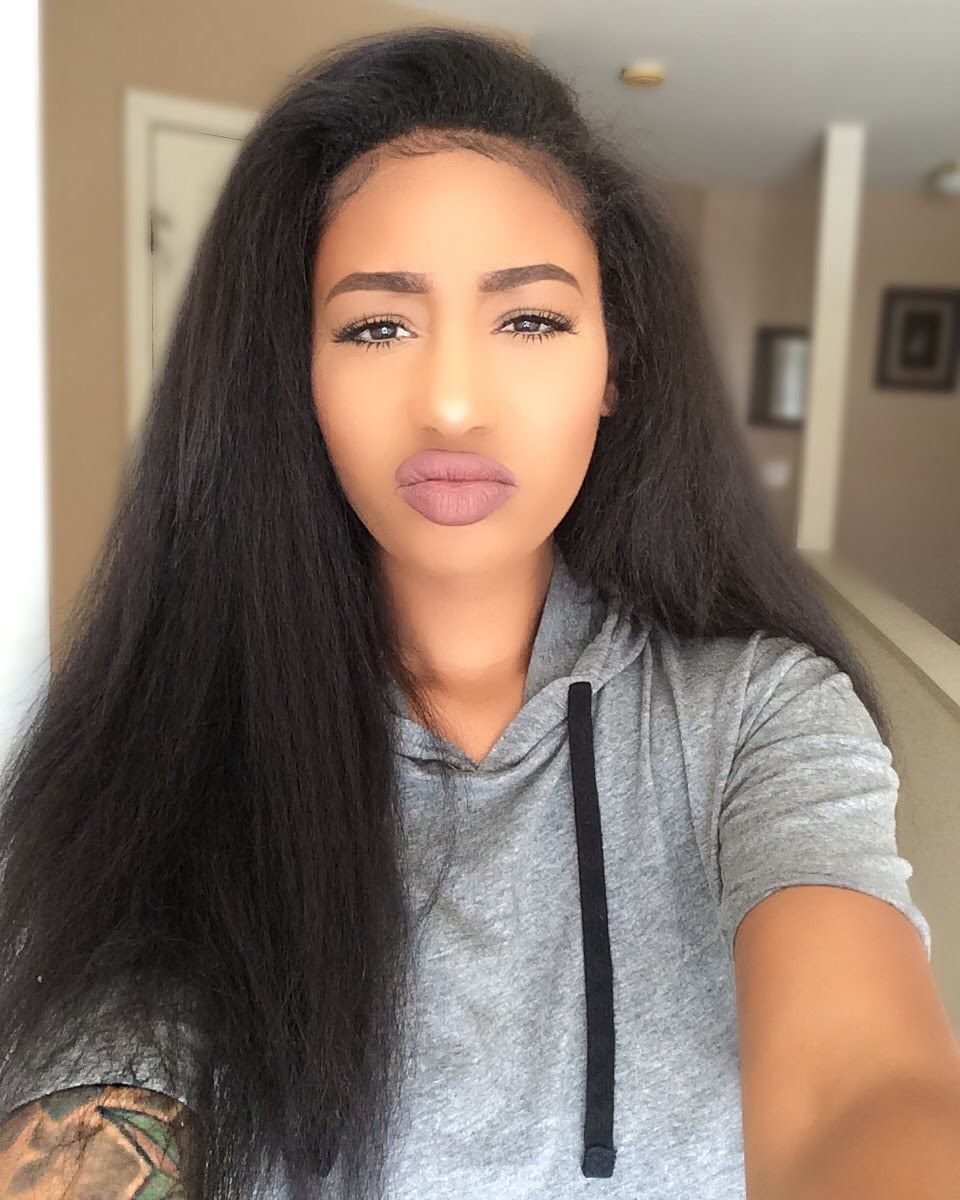 Outre half wig annie review weave wigs and pieces pinterest kinky straight wig brand new color 24 inches long for natural hair women accessories nvjuhfo Images