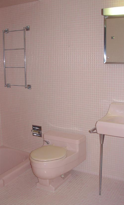 Decorating A Bathroom With Tile On All Six Walls Yes Ceiling Too - 1960s floor tiles