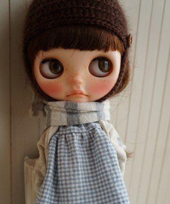 ** Custom Blythe **   Buy her here:   #blythe #blythedolls #kawaii #cute #rinkya #japan #collectibles #neoblythe #customblythe