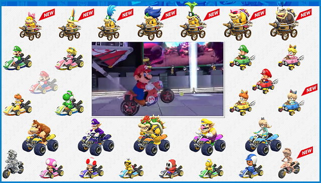 Mario Kart 8 Won Me Over By Character Roster Alone Mario Kart 8