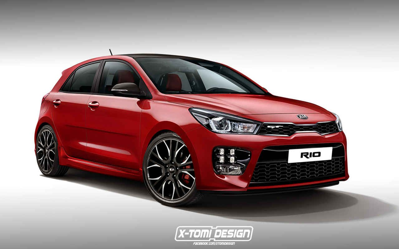 New model 2018 kia rio gt hatchback will reportedly get a host of improvements including more expressive styling new engines specs price and release