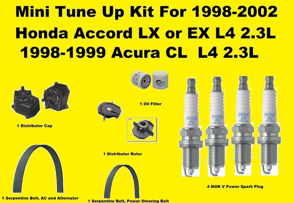 how much to replace spark plugs honda accord