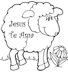 Escolinha Biblica Da Garotada Pascoa Ovelhinhas Com Mensagens