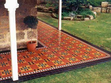 spanish style spanish style old tile