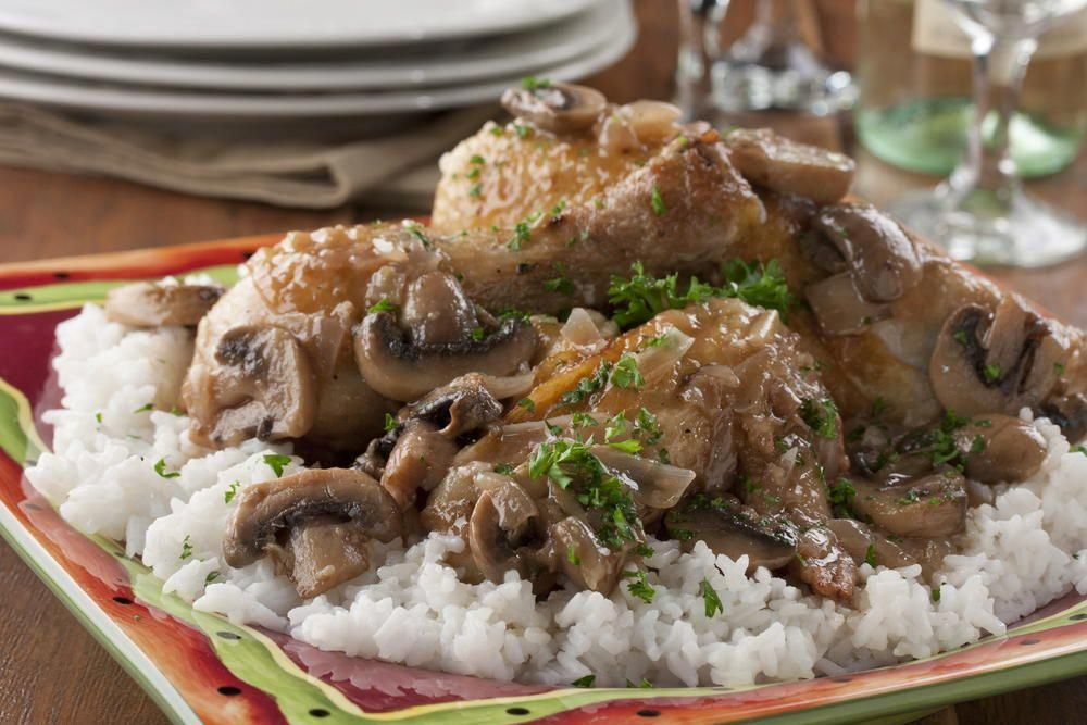 Photo of Wined and Dined Chicken | MrFood.com #caponrecipes