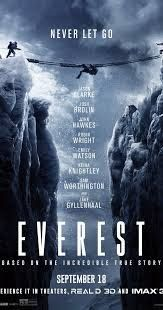 Some English Movies Reviews : Review of Everest