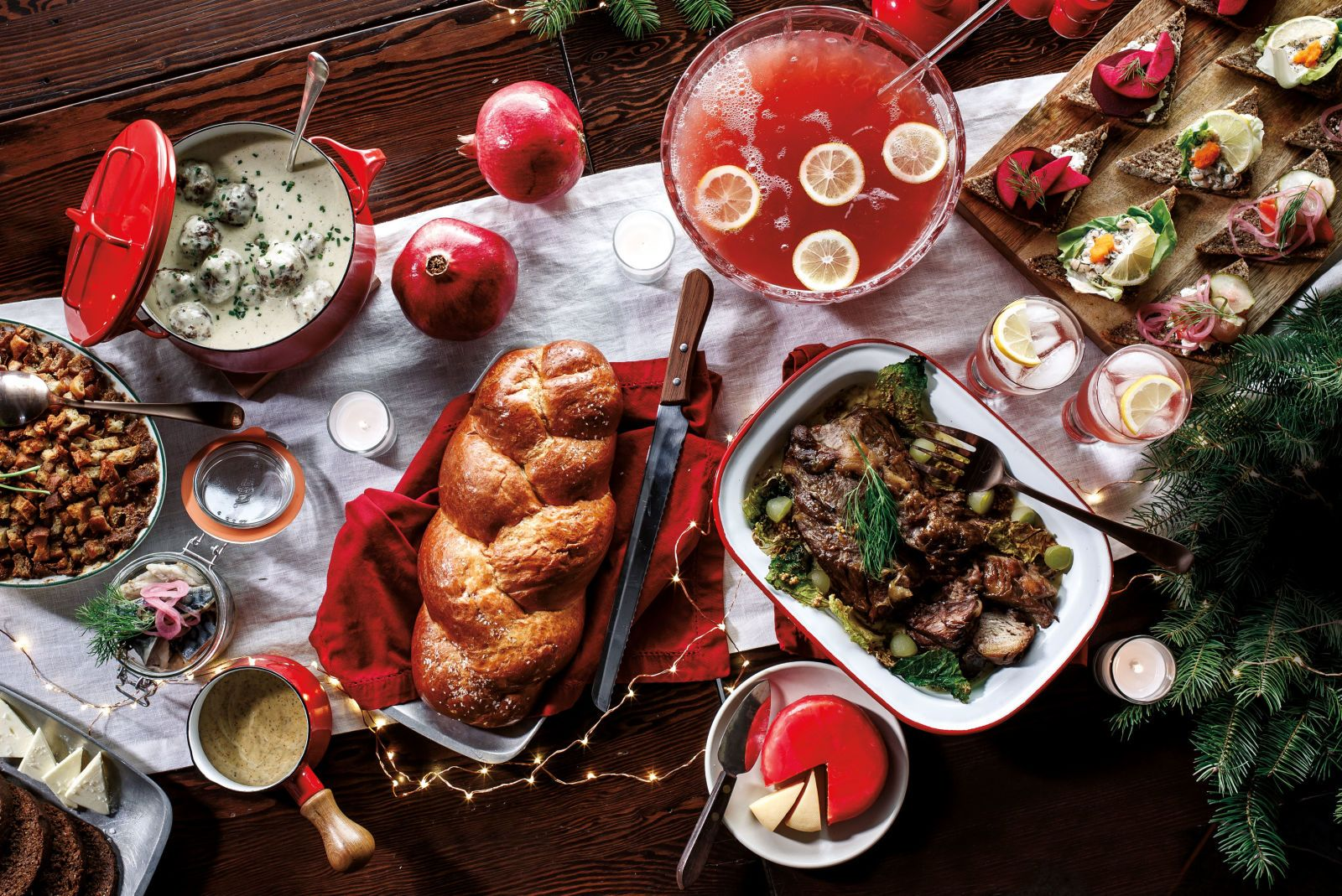 Make Nordic Holiday Punch For A Crowd Portland Restaurants Bars Oregon Wine Beer Portland Monthly Immune Boosting Foods Food Dill Cream Sauce