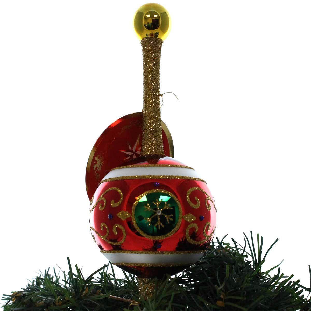 Victoria's Ball Room Clip Glass Ornament