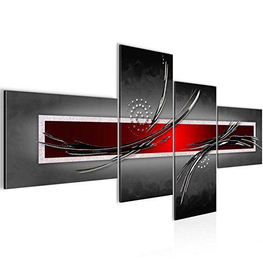 Bilder Abstrakt Wandbild Vlies - Leinwand Bild XXL Format Wandbilder - wohnzimmer bilder abstrakt