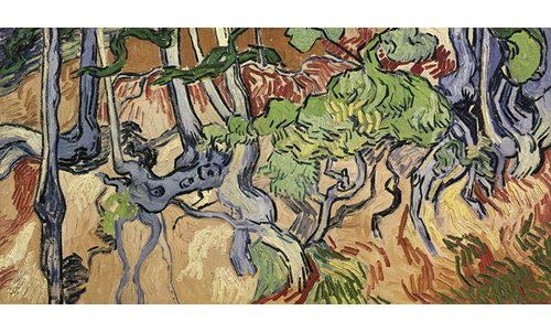 Tree Roots 1890 By Vincent Van Gogh Art Print On Canvas Magnolia