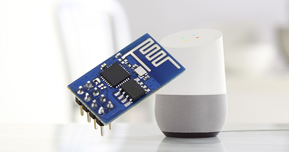How To Control An Esp8266 Verbally With Google Home