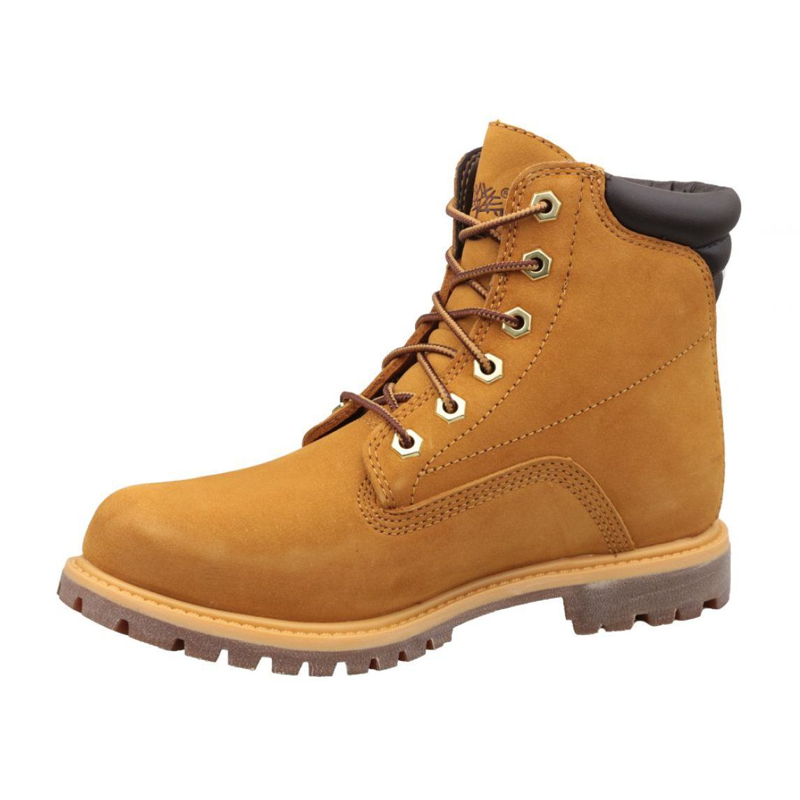 Buty Zimowe Timberland Waterville 6 In Basic W 8168r Brazowe Timberland Shoes Women Boots Winter Boots