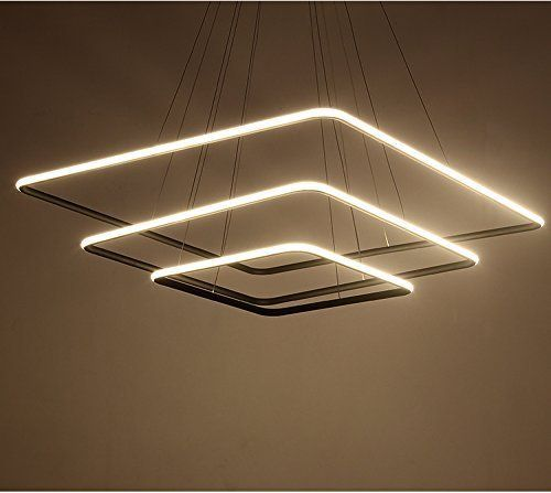 Pin By 金婷 林 On Hanging Lights Square Pendant Lighting Ceiling Pendant Lights Led Chandelier