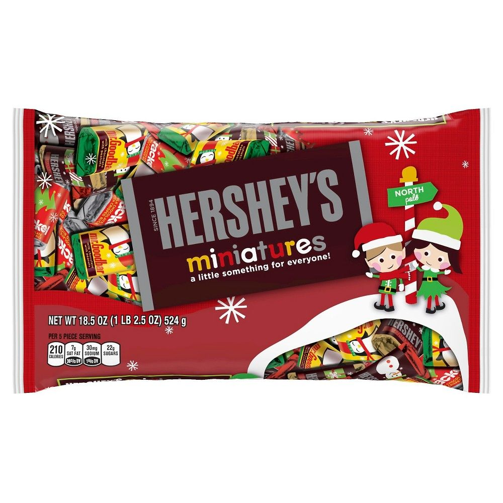 Hershey's Holiday Miniatures Assortment 18.5 oz