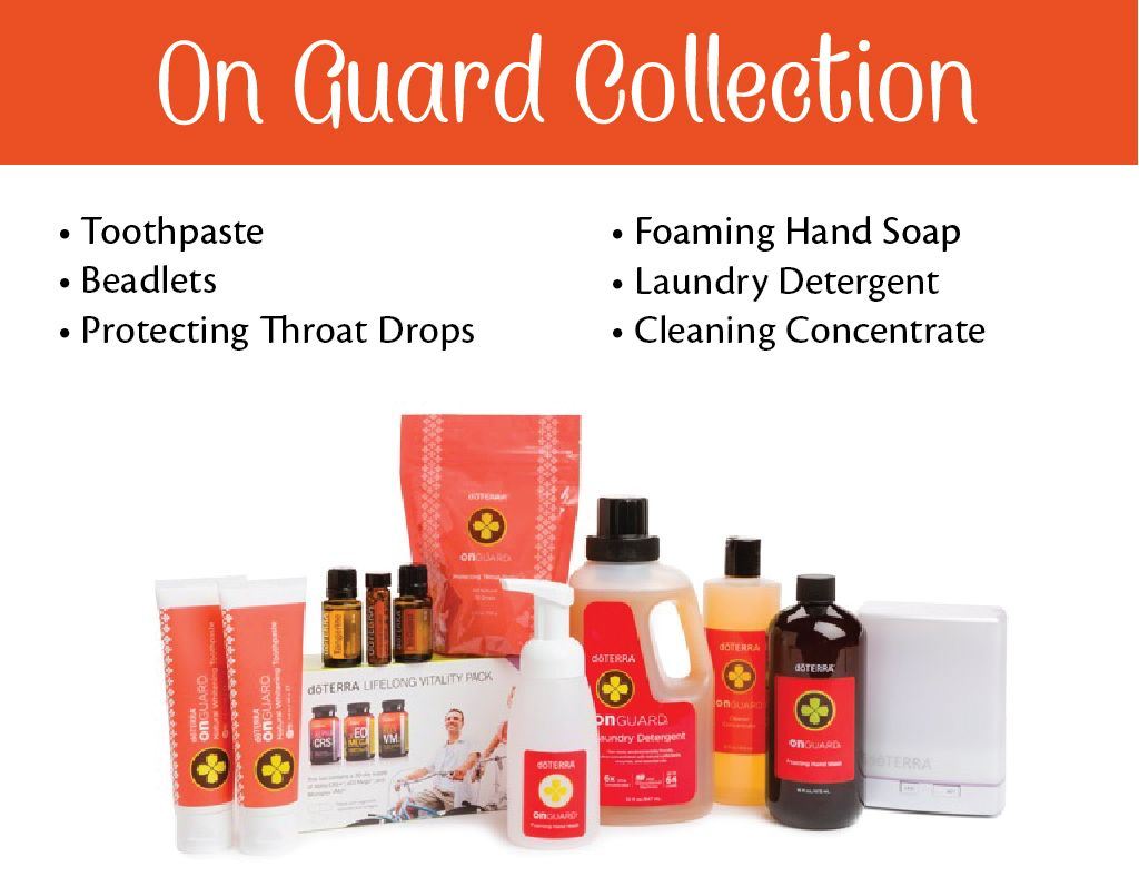 Support Your Immune System with doTERRA's On Guard Line of Products